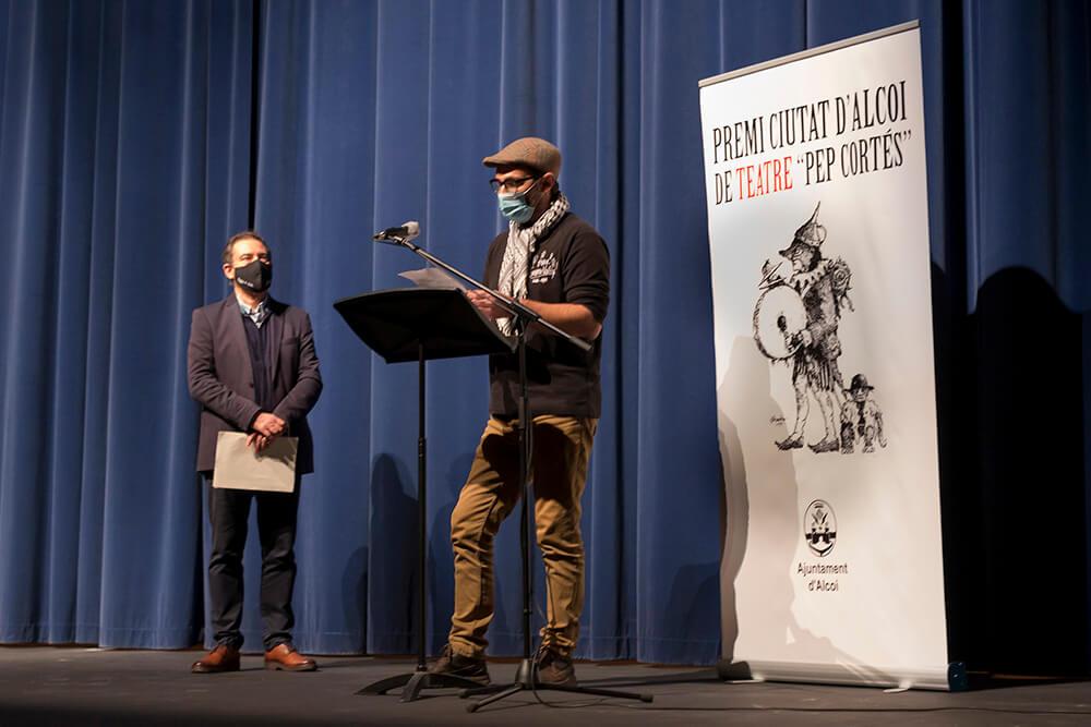 Paco Romeu premi teatre ciutat d'alcoi 2020